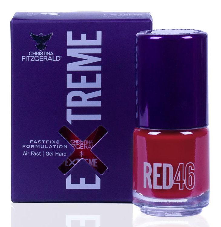 Купить CHRISTINA FITZGERALD Лак для ногтей 46 / RED EXTREME 15 мл, Красные