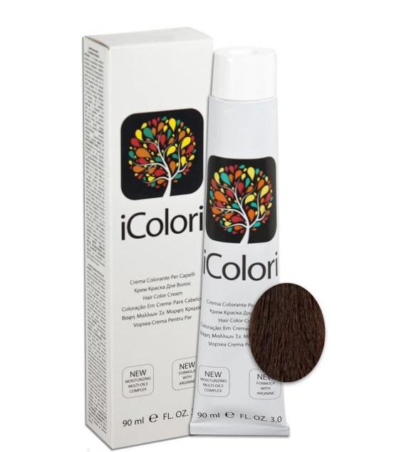 KAYPRO 5.55 краска для волос, светло-каштановый красное дерево интенсивный / ICOLORI 90 мл
