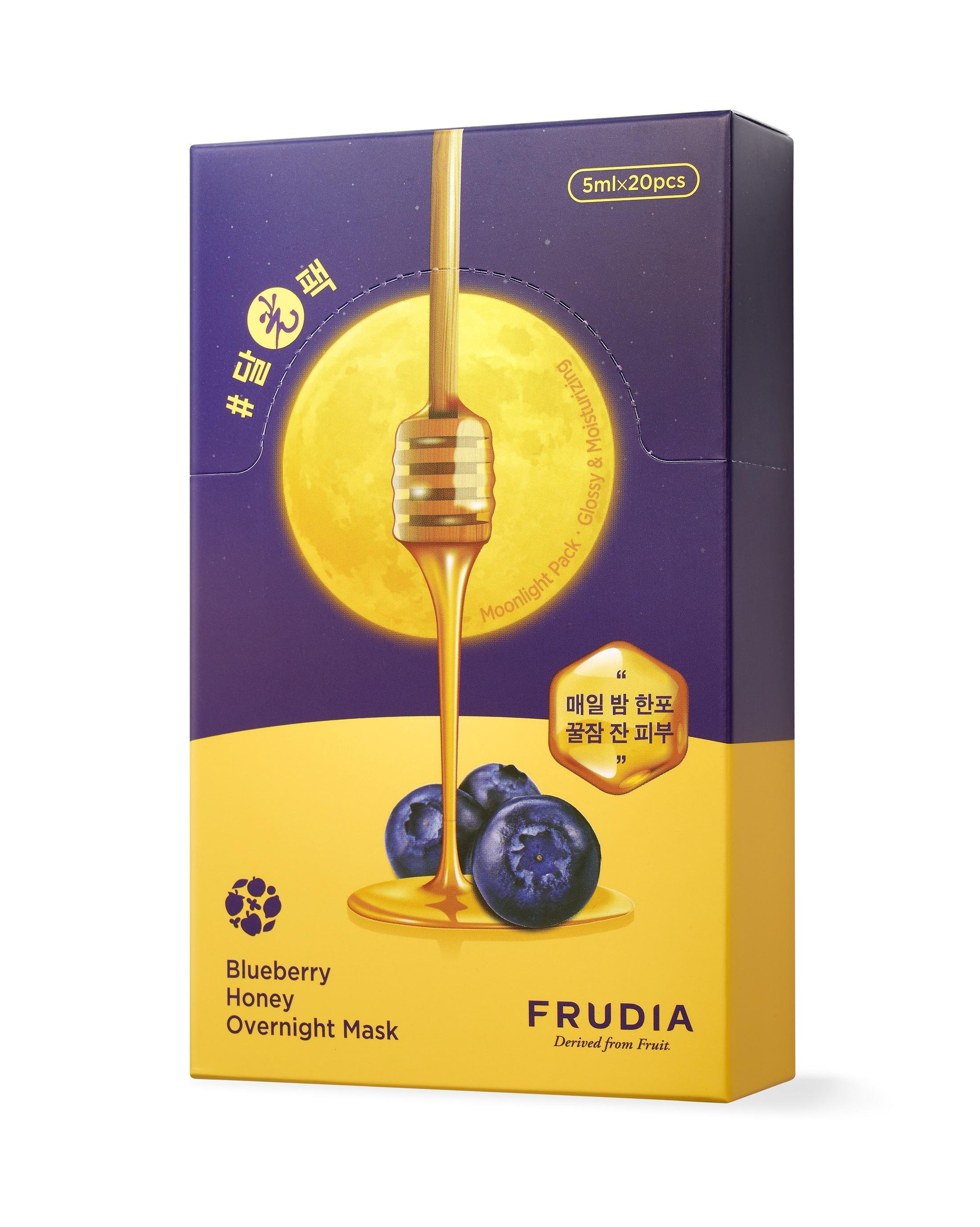 Купить FRUDIA Маска ночная питательная с черникой и медом 20 х 5 мл