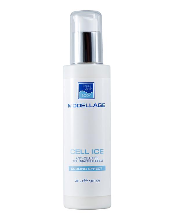 BEAUTY STYLE Крем антицеллюлитный дренажный с охлаждающим эффектом / Cell Ice 200 мл