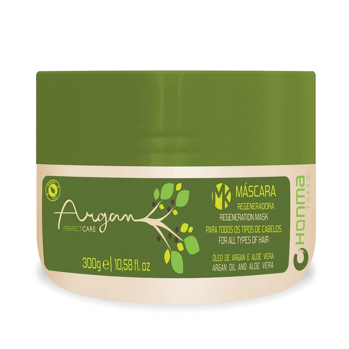HONMA TOKYO Маска регенерирующая с маслом Арганы для восстановления ломких и сухих волос / Argan Perfect Care 300 мл
