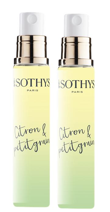 SOTHYS Вода туалетная с ароматом лимона и петитгрейна / Aroma Sothys 2 х 15 мл