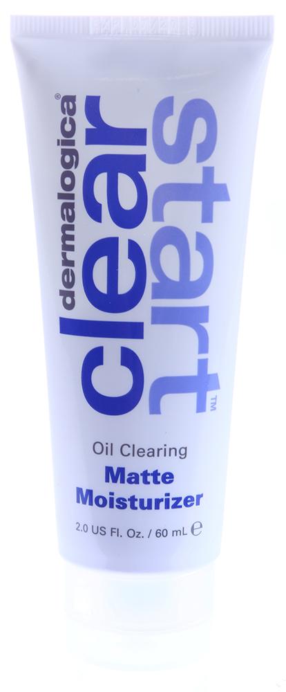 DERMALOGICA Крем матирующий дневной SPF15 / Oil Clearing Matte Moisturizer CLEAR START 60млКремы<br>Увлажнение, контроль жирного блеска и защита от солнца целый день. Увлажняющая формула содержит натуральные обезжиривающие кожу компоненты, которые матируют кожу. SPF защищает от UV лучей, тем самым предупреждая раздражение кожи и появление пигментных пятен. Особые растительные абсорбенты себума придают матовость коже, увлажняющие ингредиенты доставляют необходимую коже влагу. 19 мягкодействующих растительных веществ, включая кору африканского белого дерева, березу, лопух, смягчают и защищают кожу. Солнцезащитные фильтры широкого спектра обеспечивает надежную защиту против УФЛ без закупорок пор, которые могут спровоцировать появление воспалительных элементов. Активные ингредиенты: кора африканского белого дерева, береза, лопух, солнцезащитные фильтры широкого спектра.Способ применения: наносить ежедневно утром на всю поверхность лица и шеи. Можно использовать самостоятельно или поверх Breakout Clearing Daytime Treatment.<br><br>Вид средства для лица: Матирующий<br>Возраст применения: До 25<br>Назначение: Пигментация<br>Время применения: Дневной