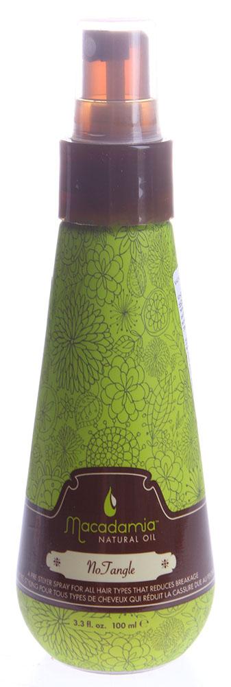 MACADAMIA Natural Oil Кондиционер для расчесывания волос / No Tangle Pre-Styler 100мл~ macadamia natural oil расческа для распутывания волос розовая