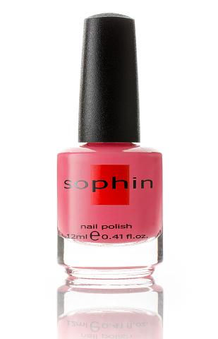 SOPHIN Лак для ногтей, кораллово-красный 12млЛаки<br>Коллекция лаков SOPHIN очень разнообразна и соответствует современным веяньям моды. Огромное количество цветов и оттенков дает возможность создать законченный образ на любой вкус. Удобный колпачок не скользит в руках, что облегчает и позволяет контролировать процесс нанесения лака. Флакон очень эргономичен, лак легко стекает по стенкам сосуда во внутреннюю чашу, что позволяет расходовать его полностью. И что самое главное - форма флакона позволяет сохранять однородность лаков с блестками, глиттером, перламутром. Кисть средней жесткости из натурального волоса обеспечивает легкое, ровное и гладкое нанесение. Быстро высыхает&amp;nbsp; Превосходно наносится&amp;nbsp; Долго держится&amp;nbsp; Создаёт глубокое блестящее покрытие&amp;nbsp; Легко применяется и удаляется Big5free Активные ингредиенты. Состав: ethyl acetate, butyl acetate, nitrocellulose, acetyl tributyl citrate, isopropyl alcohol, adipic acid/neopentyl glycol/trimellitic anhydride copolymer, stearalkonium bentonite, n-butyl alcohol, styrene/acrylates copolymer, silica, benzophenone-1, trimethylpentanedyl dibenzoate, polyvinyl butyral.<br><br>Цвет: Розовые