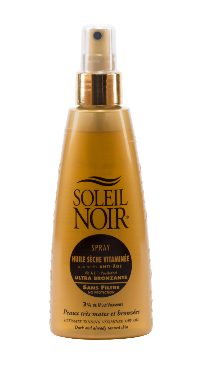 SOLEIL NOIR Масло спрей сухое антивозрастное витаминизированное Ультра-загар / HULE SECHE VITAMINEE 150мл