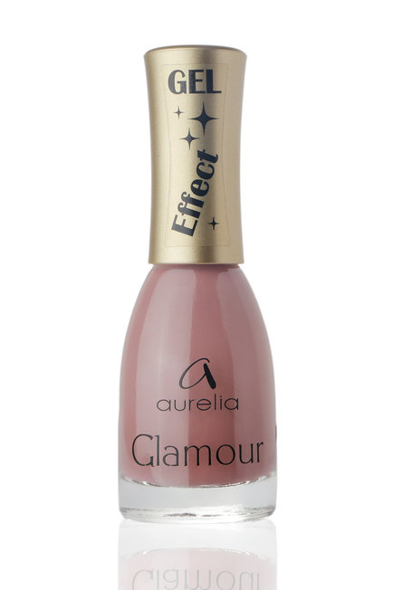 AURELIA 02ge лак для ногтей / GLAMOUR GEL effect 13 мл aurelia 02g лак для ногтей glamour 13мл