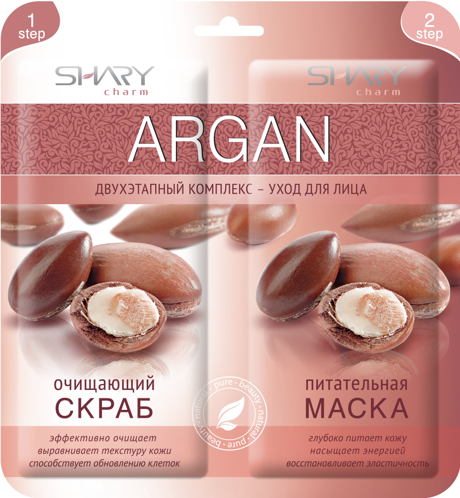 "SHARY �������� �����������-���� ��� ���� ""ARGAN"" ��������� ����� � ����������� ����� / SHARY CHARM 6�� X 2"