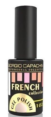 Купить GIORGIO CAPACHINI 102 гель-лак трехфазный для ногтей / French 7 мл, Розовые