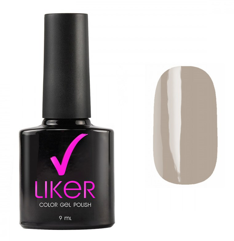 Купить RUNAIL 4573 гель-лак для ногтей / Liker 9 мл, Серые