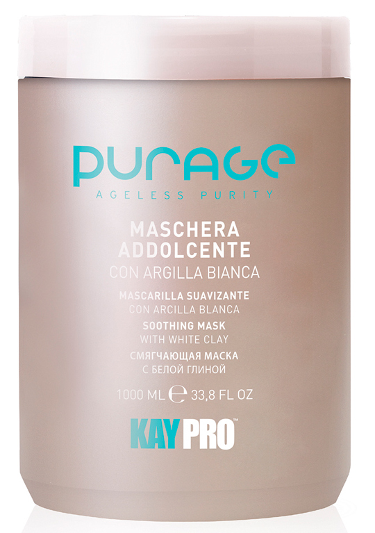 Купить KAYPRO Маска на основе белой глины для волос / SOOTHING MASK WHITE CLAY 1000 мл