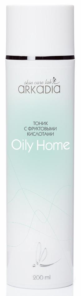 Купить ARKADIA Тоник c фруктовыми кислотами / Oily Home 200 мл