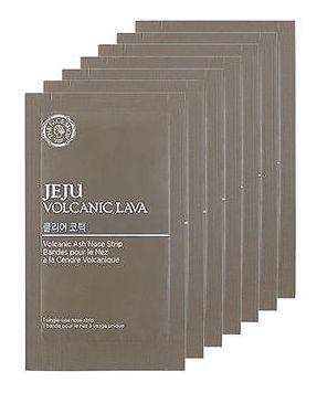 THE FACE SHOP Полоска для носа от черных точек / Jeju Volcanic Lava Volcanic Ash Nose Strip 7 шт
