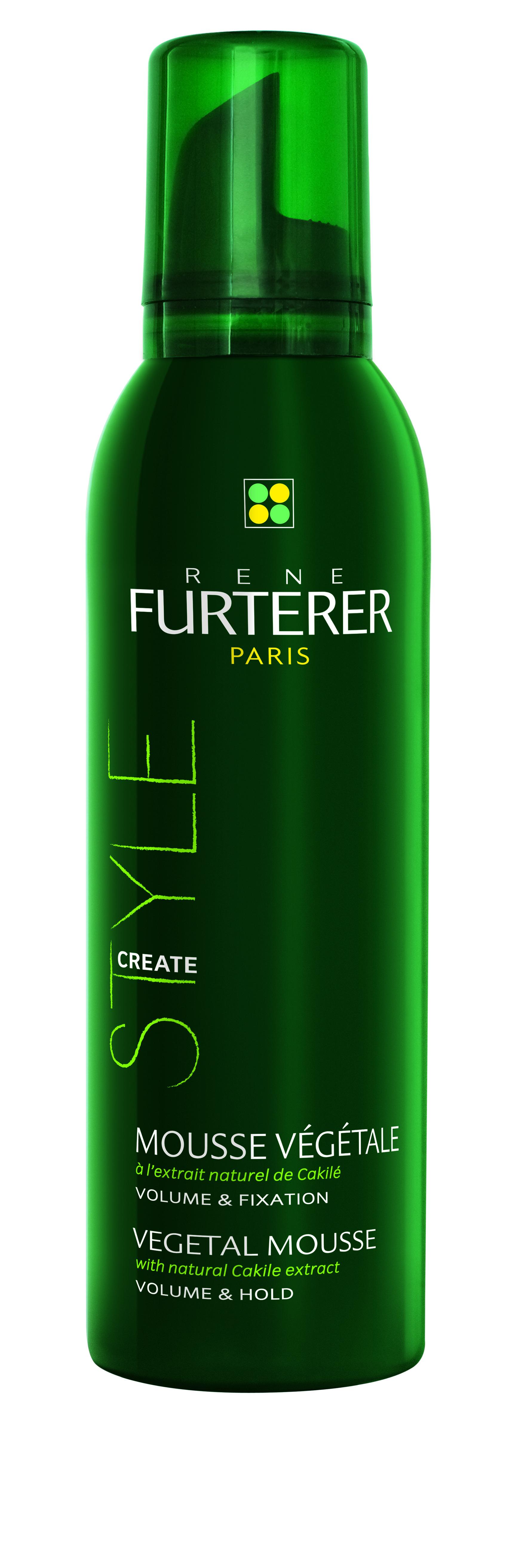 RENE FURTERER Мусс растительный с натуральным экстрактом горчицы для объема и фиксации волос / Style 200мл