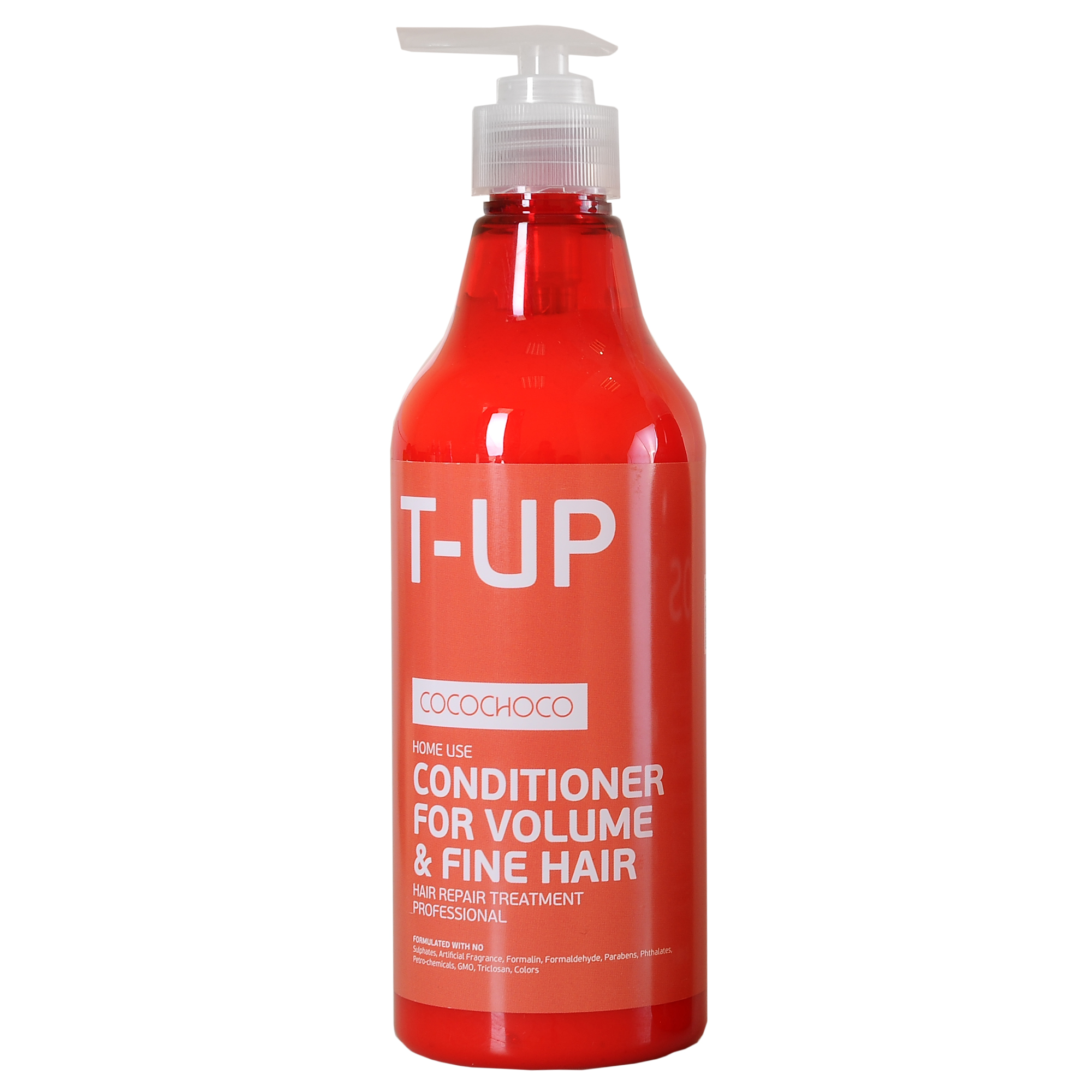COCOCHOCO Кондиционер для придания объема / BOOST-UP 500 млКондиционеры<br>Кондиционер Boost-Up Conditioner for Volume &amp;amp; Fine Hair для придания волосам объёма и пышности рекомендован для ухода за тонкими, лишёнными объёма волосами, а также применяется после процедуры кератинового восстановления волос. Регулярное использование кондиционера гарантирует волосам отличный объём на весь день. Способ применения: равномерно нанести небольшое количество кондиционера мягкими массажными движениями на влажные волосы. Оставить на 2-3 минут. Тщательно смыть тёплой водой. Активные ингредиенты: смягчение (масла): аргана, олива. Питание (экстракты): сверция японская, лопух, овес, алоэ. Восстановление (аминокислоты): гиалуроновая кислота, альгинаты, пантенол D-5. Уплотнение (протеины): протеин пшеницы, натуральный кератин, протеин сои, молочный казеин. Текстура: силанетриол, феноксиэтанол, бензиловый спирт.<br><br>Объем: 500 мл