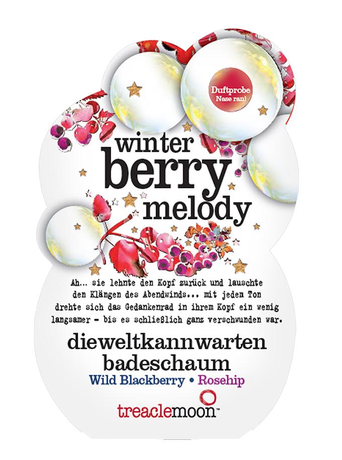 Купить TREACLEMOON Пена для ванны Ягодный смузи / Winter berry melody badescha 80 г