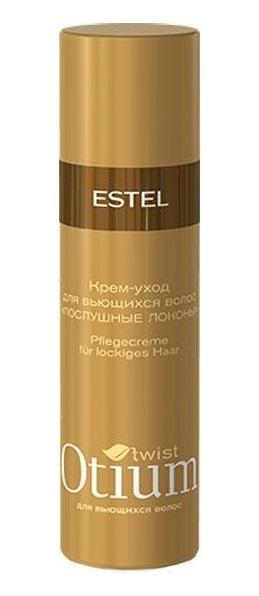"""ESTEL PROFESSIONAL Крем-уход для вьющихся волос """"Послушные локоны"""" / OTIUM Twist 100мл"""