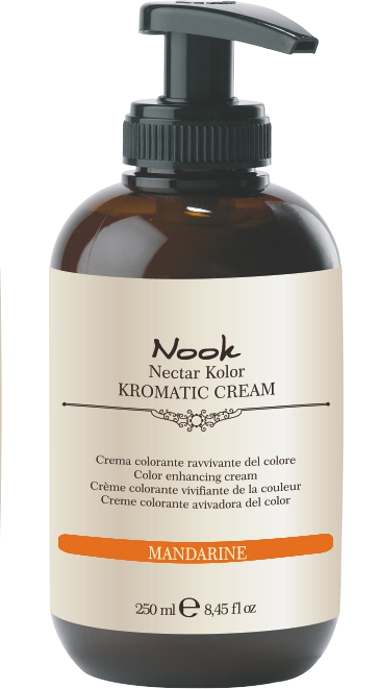 NOOK Крем-кондиционер оттеночный  Мандариновый  / Kromatic Mandarine KROMATIC CREAM 250 мл