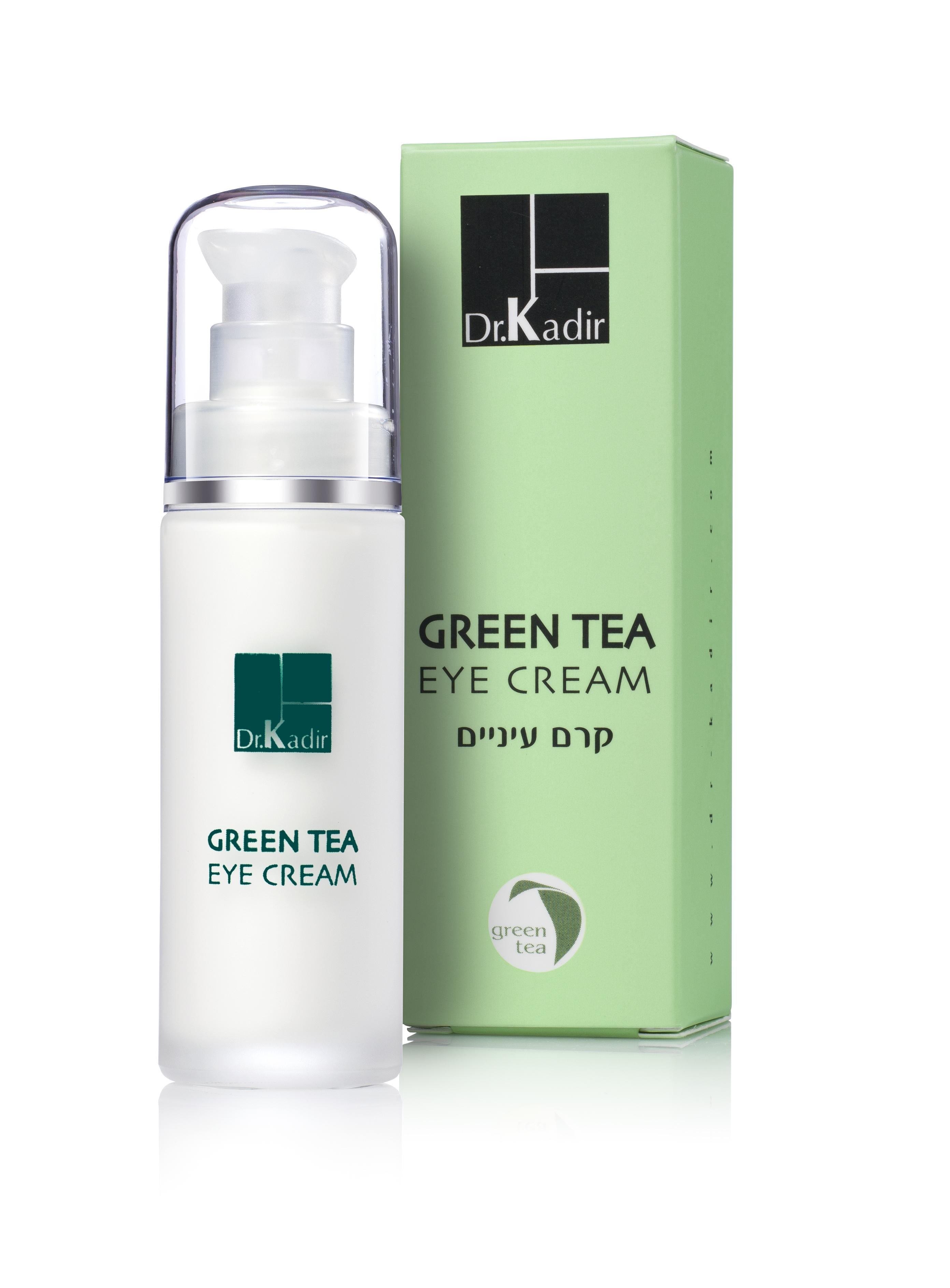 DR KADIR Крем под глаза Зеленый чай / CREAMS AND MOISTURIZERS 30 мл ahava time to hydrate нежный крем для глаз 15 мл