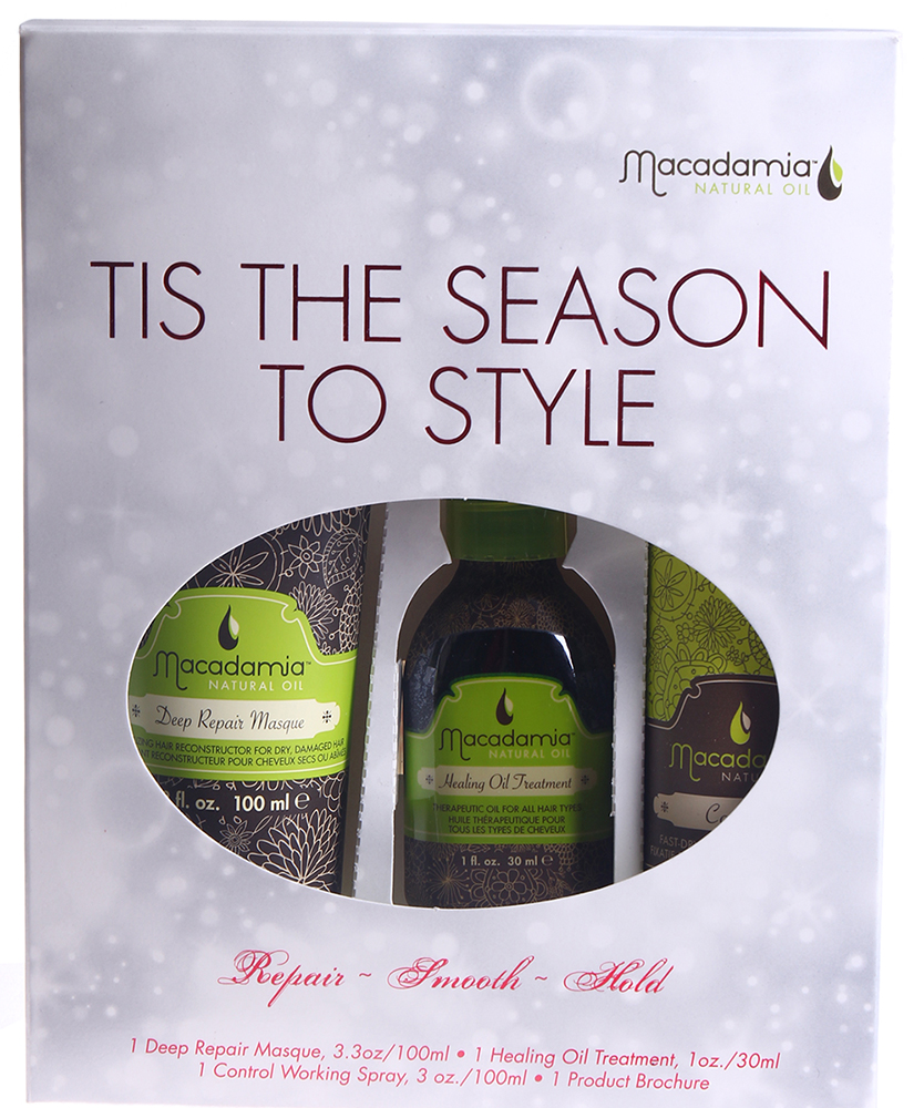 MACADAMIA Natural Oil Набор Сезонный уход / Tis The Season To Style~