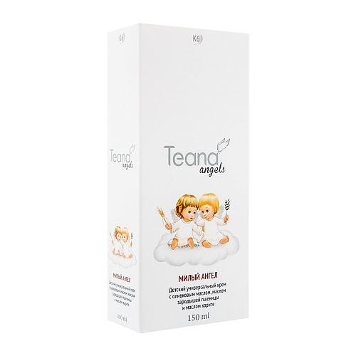 TEANA Крем детский универсальный с оливковым маслом, маслом зародышей пшеницы и маслом карите Милый Ангел, 150 мл