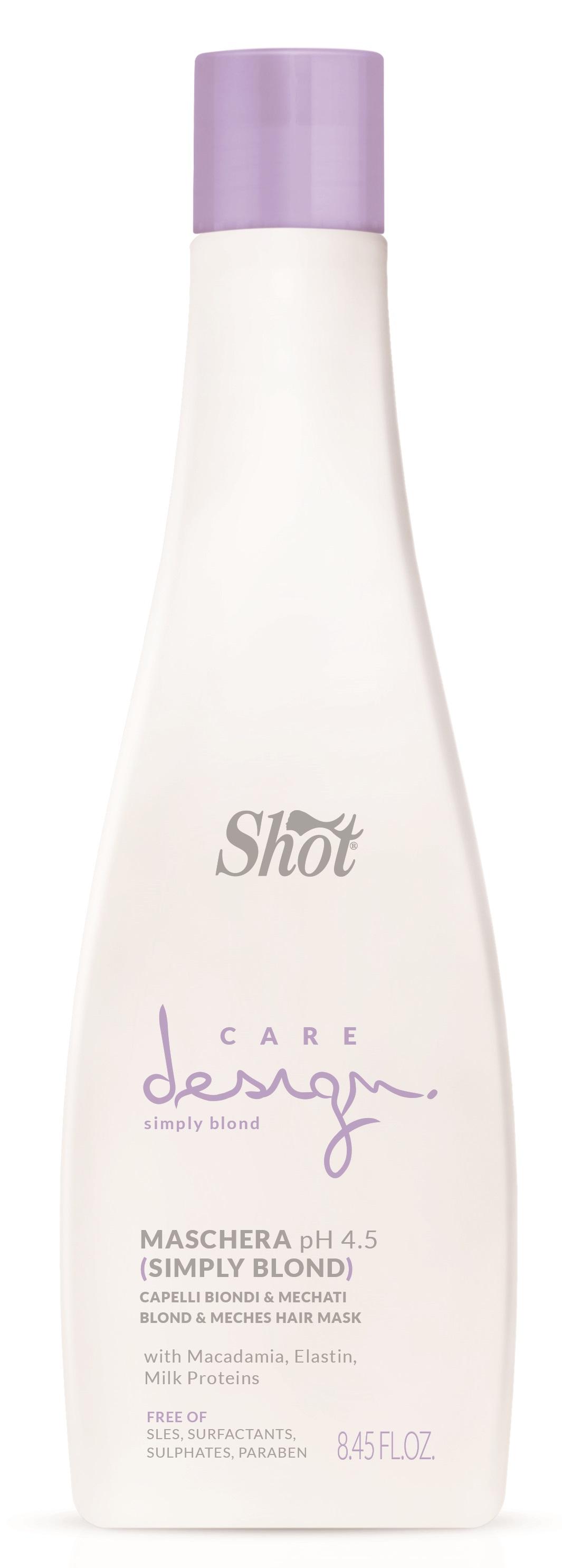 Купить SHOT Маска для осветленных и мелированных волос / Care Design 250 мл