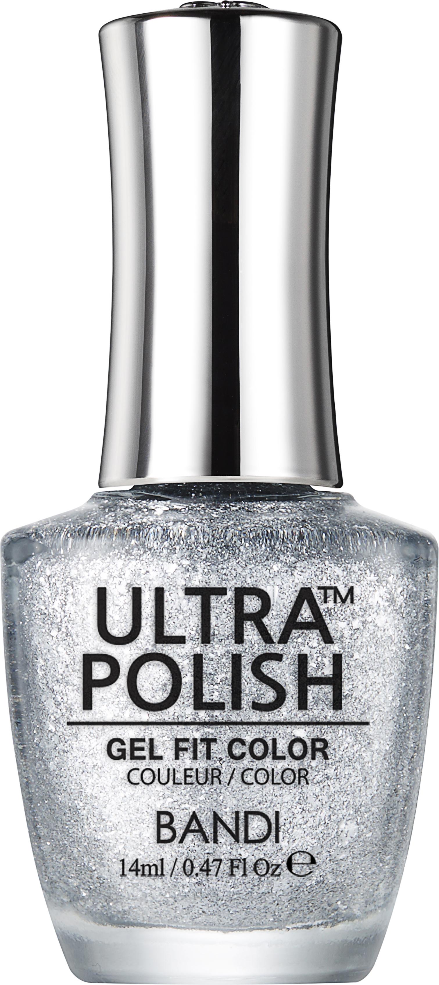 Купить BANDI UP911 ультра-покрытие долговременное цветное для ногтей / ULTRA POLISH GEL FIT COLOR 14 мл, Серые