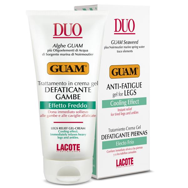 GUAM Гель для ног против отёков с охлаждающим эффектом 100 мл / DUO