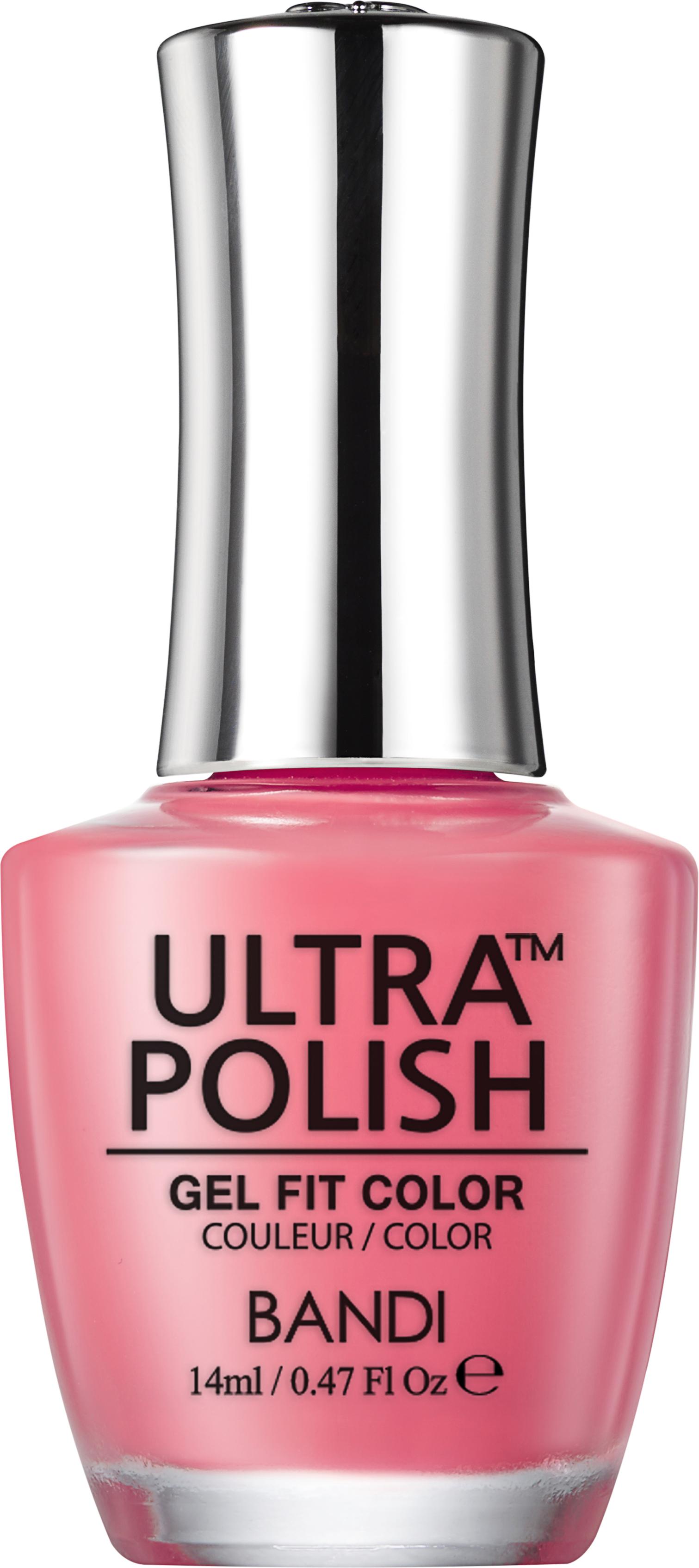 Купить BANDI UP112 ультра-покрытие долговременное цветное для ногтей / ULTRA POLISH GEL FIT COLOR 14 мл, Розовые