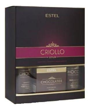 ESTEL PROFESSIONAL Набор для волос (шампунь, бальзам, маска для рук) / CHOCOLATIER CRIOLLO -  Наборы