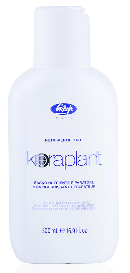 LISAP MILANO Шампунь для глубокого питания и увлажнения волос и кожи головы / KERAPLANT 500мл