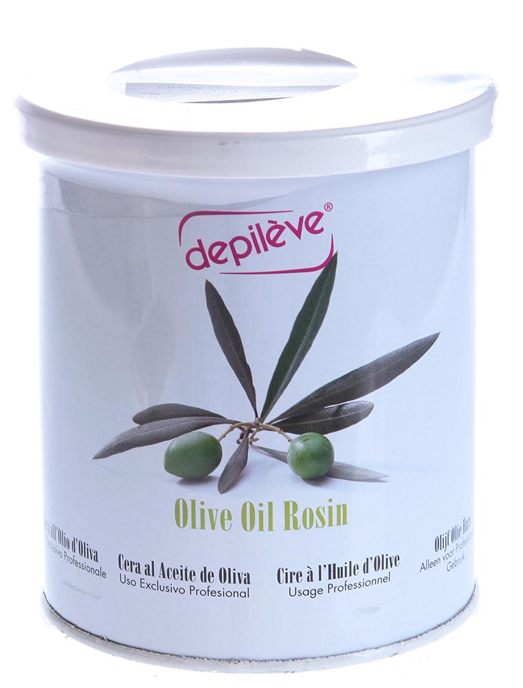 DEPILEVE Воск оливковый, банка 800грВоски<br>С натуральным оливковым маслом, для сухой и чувствительной кожи.Идеальный воск для всех типов кожи, в том числе для сухой и чувствительной кожи, подходит для депиляции на лице, в области бикини и подмышек. Прозрачный воск оливкового цвета с кремообразной текстурой. Активные ингредиенты: Оливковое масло первого отжима(с высоким содержанием витамина Е, обладает питательными, смягчающими и антиоксидантными свойствами), растительное масло (защищает и питает кожу). Температура плавления 37 Способ применения: Наносить тонким слоем.<br><br>Объем: 800<br>Вид средства для тела: Антиоксидантный<br>Типы кожи: Сухая и чувствительная