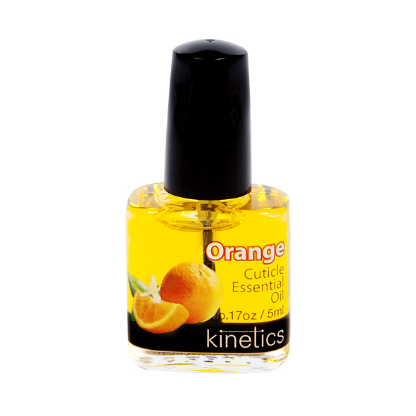 KINETICS Масло увлажняющее кутикулу и ногтевую пластину Orange (апельсин) 5 млДля кутикулы<br>Превосходный выбор для ухода за ногтями на бегу, эти удобные флаконы с маслом для кутикулы являются портативным вариантом для тех, кто поддерживает увлажнение ногтей с проверенными маслами Kinetics. &amp;nbsp; Рекомендации: это средство с запахом апельсина, рекомендованное для ежедневного использования, чтобы улучшить состояние ногтей и кутикулы. Масло стимулирует рост ногтей, увлажняет и смягчает кутикулу. При ежедневном использовании улучшает состояние ногтей, сохраняет кутикулу эластичной и здоровой, заботится о сухой и раздраженной кутикуле. Способ применения:нанесите каплю масла на кутикулу и ногтевую пластину. Массажируя с нежными круговыми движениями. Применять ежедневно.<br><br>Объем: 5 мл