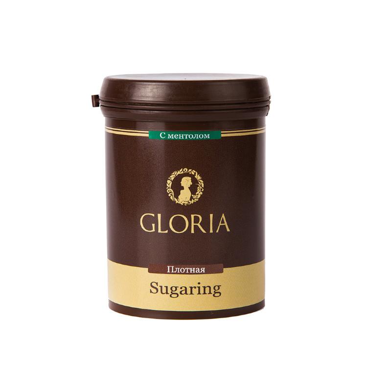 GLORIA Паста для шугаринга Gloria твердая с ментолом 0,33 кг