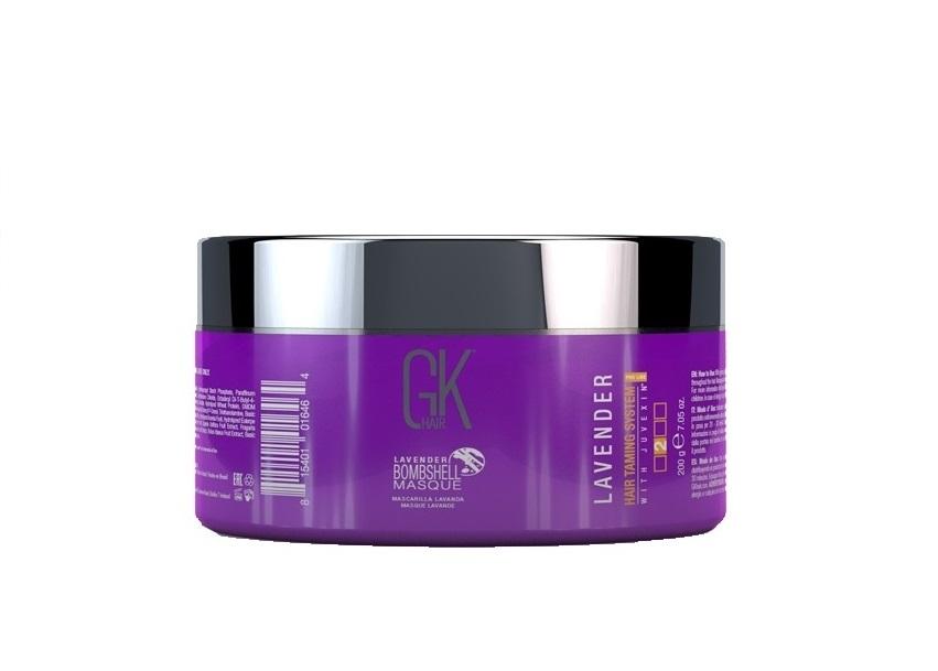 GKHair (Global Кеratin) Маска для усиления фиолетовых оттенков / Bombshell Lavender Gkhair 200 мл