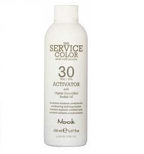 NOOK Активатор 9% (30vol) / ACTIVATOR THE SERVICE COLOR 150мл