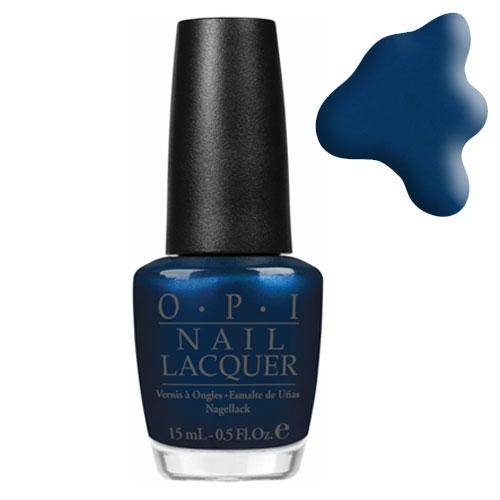 OPI Лак для ногтей Unfor-Greta-Bly Blue / GERMANY 15мл
