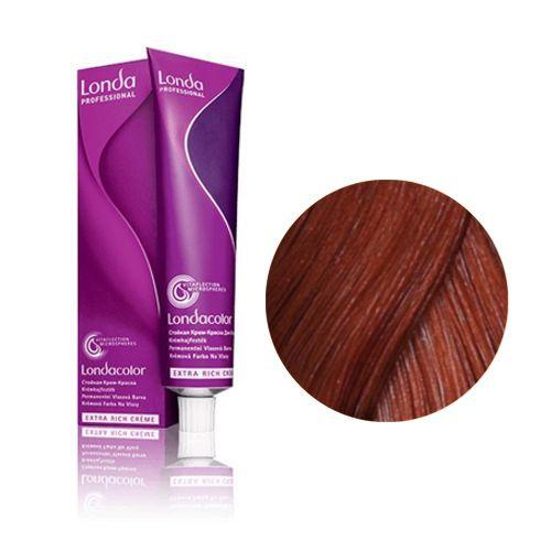 Londa professional 6/44 краска для волос, темный блонд интенсивно-медный / lc new micro reds 60 мл