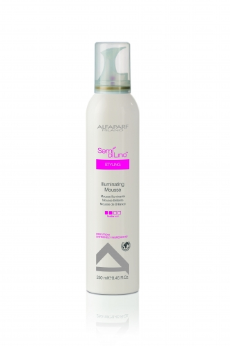 ALFAPARF MILANO Мусс для волос придающий блеск / SDL STYLING ILLUMINATING MOUSSE 250 мл