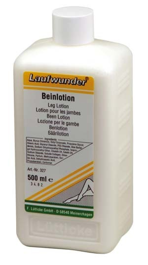 LAUFWUNDER Лосьон для ног с коллагеном 500млЛосьоны<br>Интенсивно увлажняет, повышает упругость и эластичность кожи. Снимает чувство усталости, отечности. Активные ингредиенты:&amp;nbsp;содержит экстракт китайского самшита, Алоэ Барбадосского, коллаген. Прекрасное средство для ежедневного ухода быстро впитывается и не оставляет жирной пленки на коже.<br><br>Объем: 500