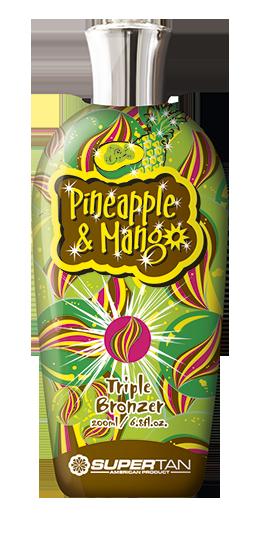 SUPER TAN Активатор загара, ананас и манго / Pineapple and Mango 200 мл -  Лосьоны