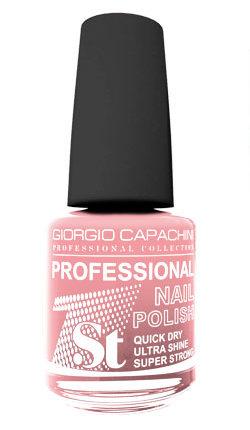 GIORGIO CAPACHINI 07 лак для ногтей розовый атлас / 1-st Professional 16 мл.