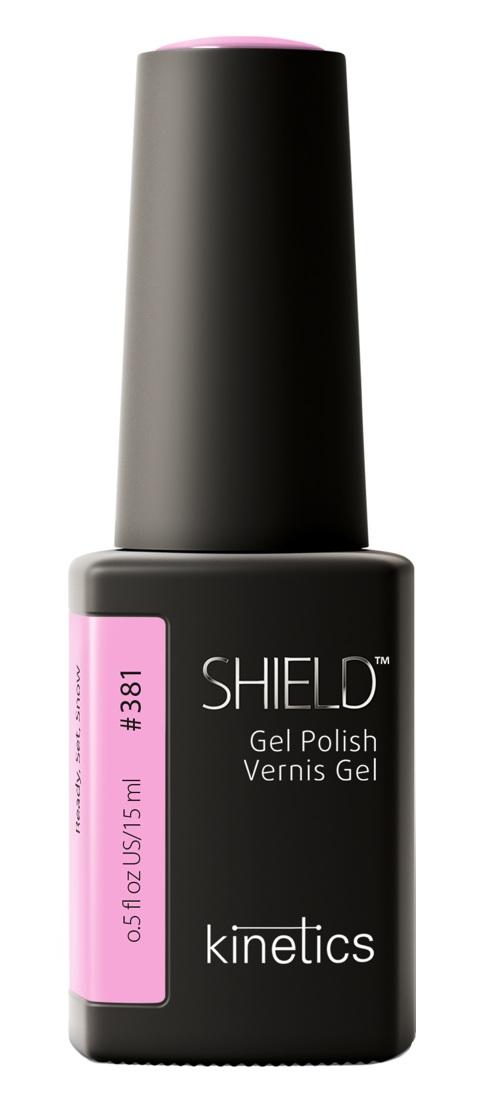 Купить KINETICS 381N гель-лак для ногтей / SHIELD 15 мл, Розовые