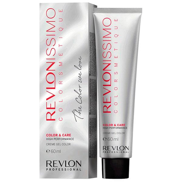 REVLON Professional 7.34 краска для волос, блондин золотисто-медный / RP REVLONISSIMO COLORSMETIQUE 60 мл revlon краситель перманентный 7 44 блондин гипер медный rp revlonissimo colorsmetique 60 мл