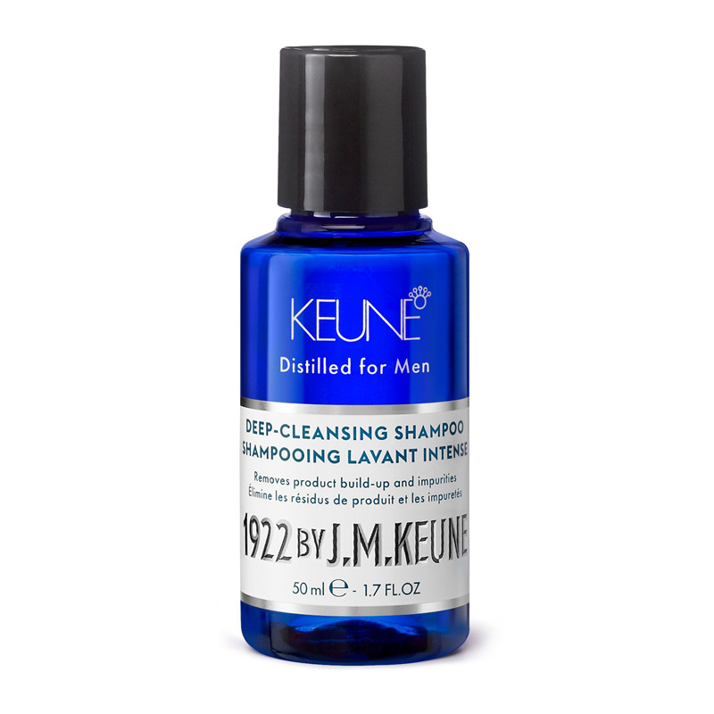 KEUNE Шампунь очищающий для волос / 1922 CARE PRODUCTS 50 мл