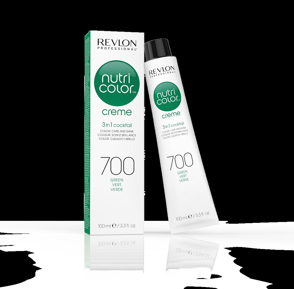 Купить REVLON Professional 700 краска 3 в 1 для волос, зеленый / NUTRI COLOR CREME 100 мл