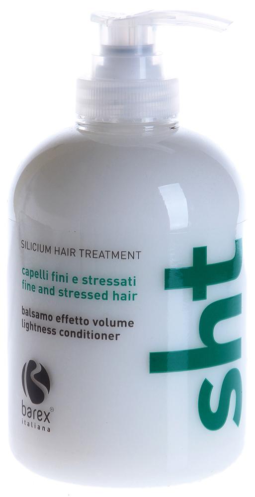 BAREX Кондиционер для придания объема / SHT 250млКондиционеры<br>Создающая объем формула с кремнием и цинком для ослабленных и тонких волос. Комплексное воздействие активного силанола и цинка по всей длинне волос улучшает его прочность и жизнестойкость, предотвращая образование секущихся кончиков. Кондиционер не утяжеляет волосы, делает их мягкими и послушными при расчесывании. Активные ингредиенты: Water, Cetearyl Alcohol, Behentrimonium Chloride, Hexyldecanol, Hexyldecyl Laurate, Distearoylethyl Hydroxyethyldimonium Methosulfate, Silicone Quaternium-16, Glycerin, Amodimethicone, Hydrolyzed Vegetable Protein, Hydrolyzed Oats*m Gossyplum Herbaceum Cotton Extract*, Undeceth-11, Cetrimonium Chloride, Methylsilanol Mannuronate, Butyloctanol, Undeceth-5, Trideceth-12, Phenoxyethanol, Tetrasodium EDTA, Methylisothiazolinone, Fragrance. *Certified Organic Ingredients Способ применения: На влажные, вымытые Шампунем для придания объема и подсушенные полотенцем волосы, равномерно нанести Кондиционер для придания объема. Подождать несколько минут и смыть водой.<br><br>Объем: 350<br>Назначение: Секущиеся кончики