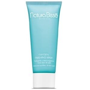 NATURA BISSE Маска оксигенирующая / Finishing Mask OXYGEN 75млМаски<br>Oxygen Finishing Mask выпускается в форме геля, подходит для всех типов кожи, но особенно эффективна при нанесении на уставшую, гиперемированную и гиперпигментированную кожу. Содержит производные перекиси водорода, восстанавливает оксигенацию и активно очищает кожу, уменьшает покраснения, охлаждает и снимает воспаление, отбеливает гиперпигментированные участки. Добавление богатого серой тиоксолона позволяет осуществлять очищение выводных протоков сальных желез. Активные ингредиенты: производная перекись водорода, сера тиоксолона. Способ применения: наносить на предварительно очищенную кожу тонким слоем. Оставить на коже в течение 20 минут. Удалить остатки геля с помощью спонжей, смоченных в теплой воде. Результат : Восстанавливает оксигенацию кожи. Очищает выводные протоки сальных желез. Уменьшает гиперемию и отбеливает кожу. Охлаждает и уменьшает воспаление.<br><br>Назначение: Пигментация
