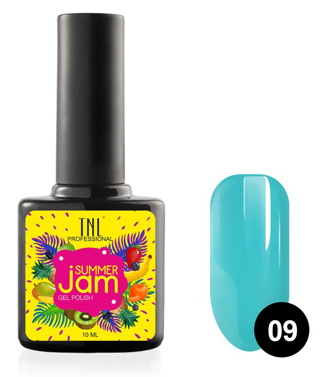 Купить TNL PROFESSIONAL 09 гель-лак для ногтей, темно-бирюзовый / Summer Jam 10 мл