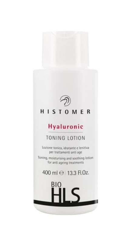 HISTOMER Лосьон тонизирующий для лица / BIO HLS Hyaluronic Toning Lotion, 400 мл histomer тонизирующий лосьон для лица 400 мл